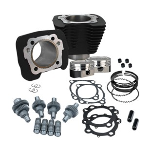 S&S 883 To 1200 Hooligan Big Bore Cam Kit For Harley Sportster 2000-2017