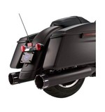 """S&S 4.5"""" MK45 Tracer Slip-On Mufflers For Harley Touring 1995-2016"""