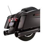 """S&S 4.5"""" MK45 Tracer Slip-On Mufflers For Harley Touring"""