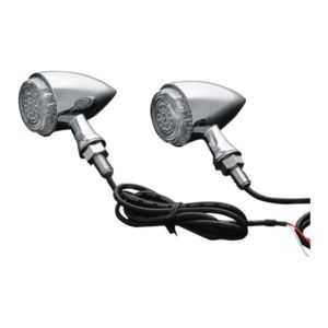 Kuryakyn LED Torpedo Turn Signal Indicator Lights