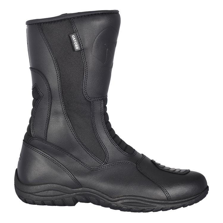 Oxford Explorer Waterproof Leather Motorbike Motorcycle Boots