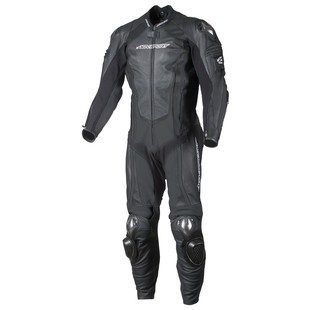 AGV Sport Phantom 1-Piece Race Suit Black / 46 [Blemished - Very Good]