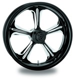 Performance Machine Wrath 21 X 3.5 Front Wheel / Rotor / Tire Kit For Harley Touring