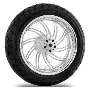 Performance Machine Supra 17 x 6 Rear Wheel / Metzeler Tire Kit For Harley Touring 2009-2016