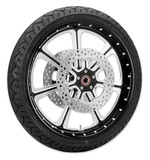 Roland Sands Diesel 21 X 3.5 Front Wheel / Rotor / Tire Kit For Harley Touring 2008-2013