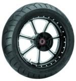 Roland Sands Diesel 17 x 6 Rear Wheel / Metzeler Tire Kit For Harley Touring 2009-2016