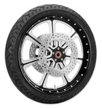 Roland Sands Diesel 21 X 3.5 Front Wheel / Rotor / Tire Kit For Harley Touring