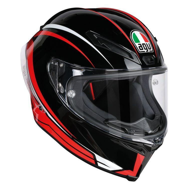 ... AGV Corsa Helmets · Sportbike Helmets · Race Helmets. Black/Red