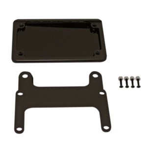Custom Dynamics LED License Plate Relocation Bracket For Harley V-Rod 2007-2016