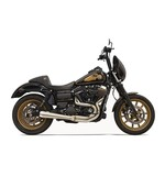 Bassani Road Rage 2-Into-1 Greg Lutzka Exhaust For Harley Dyna 1991-2017