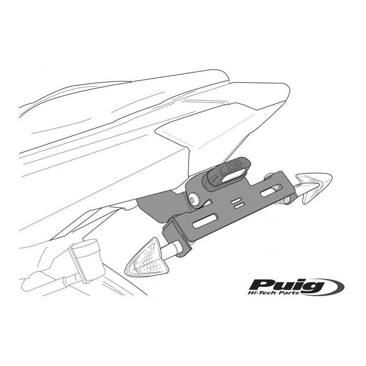 Puig Fender Eliminator Kit Ducati Monster 821 2015-2017 Black [Open Box]