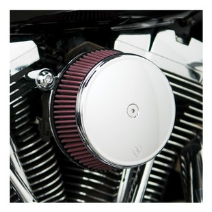 Arlen Ness Smooth Stage 1 Big Sucker Air Cleaner Kit For Harley Twin Cam 1999-2017 Standard Air Filter / Smooth C... [Previously Installed]