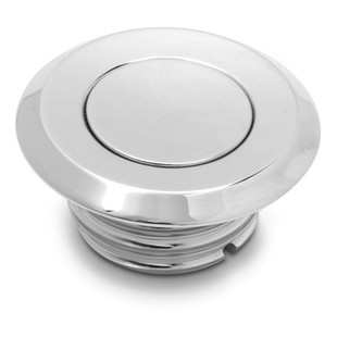 Arlen Ness Pop-Up Vented Gas Cap For Harley 1996-2017 Vented / Chrome [Open Box]