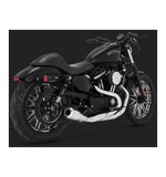 Vance & Hines UpSweep 2-Into-1 Exhaust For Harley Sportster 2007-2017