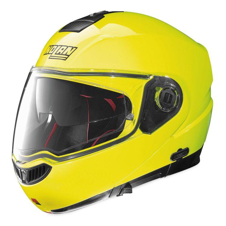 28307b02 Nolan N104 Absolute Hi-Viz Helmet (2XL) | 20% ($105.99) Off! - RevZilla