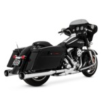 Paul Yaffe Cult 45 Crown Slip-On Mufflers For Harley Touring 1995-2016