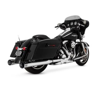 Paul Yaffe Cult 45 Holymoly Slip-On Mufflers For Harley Touring 1995-2016