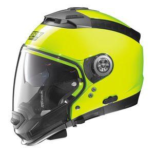 HiViz Neon Motorcycle Helmets RevZilla - Motorcycle helmet decals graphicsappliedgraphics high visibility reflective motorcycle decals