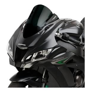 Hotbodies Venom Windscreen Kawasaki ZX10R 2016-2017 Black / Standard [Previously Installed]