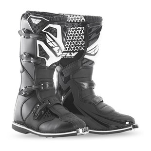 Fly Racing Maverik Boots Black / 7 [Demo - Good]