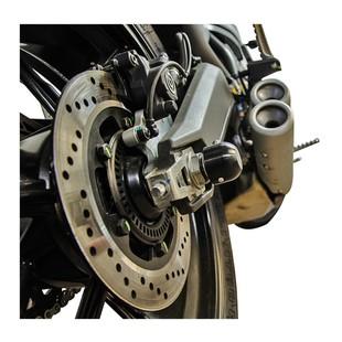 Woodcraft Rear Axle Sliders Ducati Scrambler 2015-2017