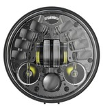 "J.W. Speaker 8691 LED 5 3/4"" Headlight With Pedestal Mount For Harley"