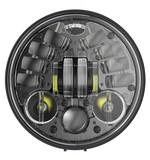 "J.W. Speaker 8691 Adaptive LED 5 3/4"" Headlight With Pedestal Mount For Harley"