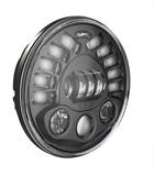 "J.W. Speaker 8791 Adaptive LED 7"" Headlight With Pedestal Mount For Harley"