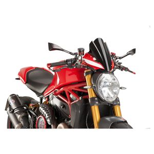 Puig Touring Naked New Generation Windscreen Ducati Monster 797 / 821 / 1200 / S