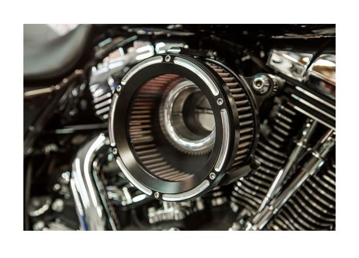 Trask Assault Charge High Flow Air Cleaner For Harley 1993