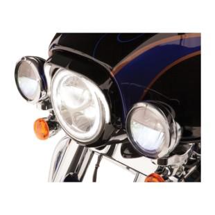 Ciro LED Fang Headlight Bezel For Harley Touring 1996-2013