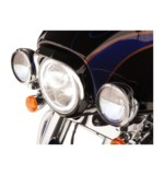 Ciro LED Fang Headlight Bezel For Harley Touring 1996-2013