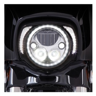 Ciro LED Fang Headlight Bezel For Harley Touring