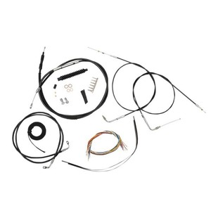 LA Choppers Handlebar Cable Brake Line And Wire Kit For Harley Softail w/ABS 2016-2017