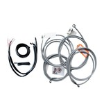 LA Choppers Handlebar Cable Brake Line And Wire Kit For Harley Touring w/ABS 2017