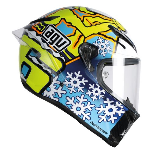 agv pista gp winter test snow man 2016 helmet revzilla. Black Bedroom Furniture Sets. Home Design Ideas