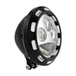 "Performance Machine Apex 5 3/4"" LED Vision Headlight For Harley"