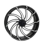 Performance Machine Supra 18 x 5.5 Rear Wheel For Harley Dyna 2008-2016