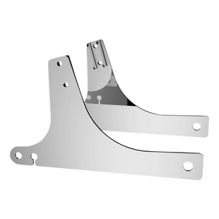 Drag Specialties Sissy Bar Side Plates For Harley Dyna 1996-2005