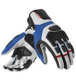 REV'IT! Sand Pro Gloves Silver/Blue / LG [Demo - Good]