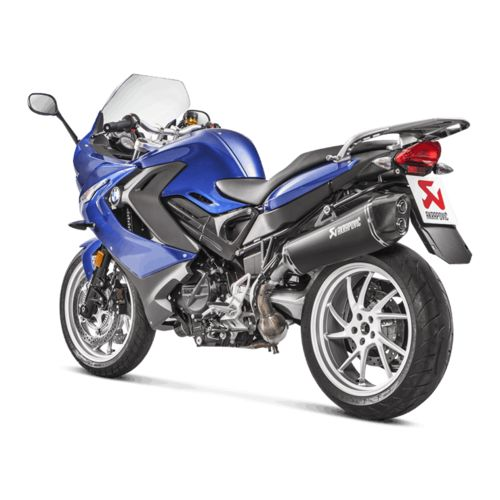 akrapovic slip on exhaust bmw f800r f800gt 2017 revzilla. Black Bedroom Furniture Sets. Home Design Ideas