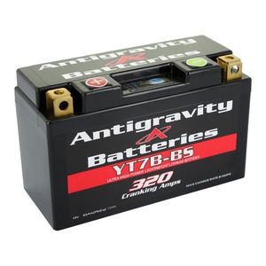 Antigravity YT7B-BS 320CA Lithium Ion Battery