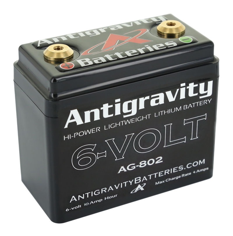 Antigravity 6 Volt 8 Cell 240ca Lithium Ion Battery Revzilla