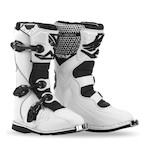 Fly Racing Youth Maverik Boots White / 4 [Demo - Good]
