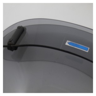 MRA VarioTouringScreen Windshield Kawasaki Versys 650 2007-2009 Grey Smoke [Blemished - Very Good]