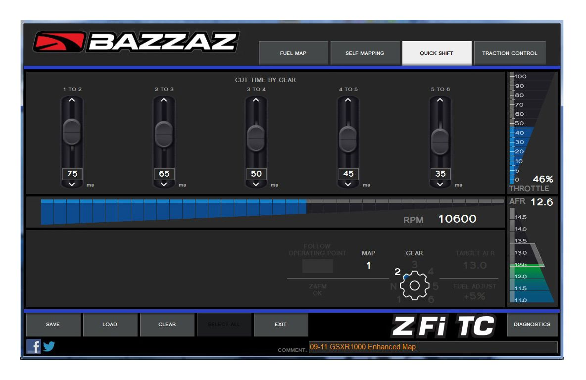 Bazzaz Qs4 Quick Shifter Kawasaki Zx14r 2016 15 7350 Off Busa Solder Small Revzilla