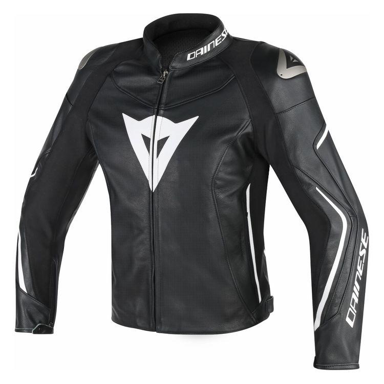 ... Leather Jackets · Dainese Jackets. Black/Black/White
