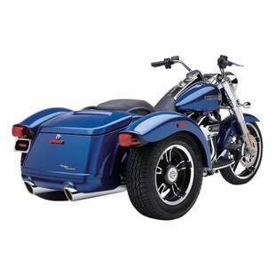 Cobra 909 Slip-On Mufflers For Harley Freewheeler 2015-2016