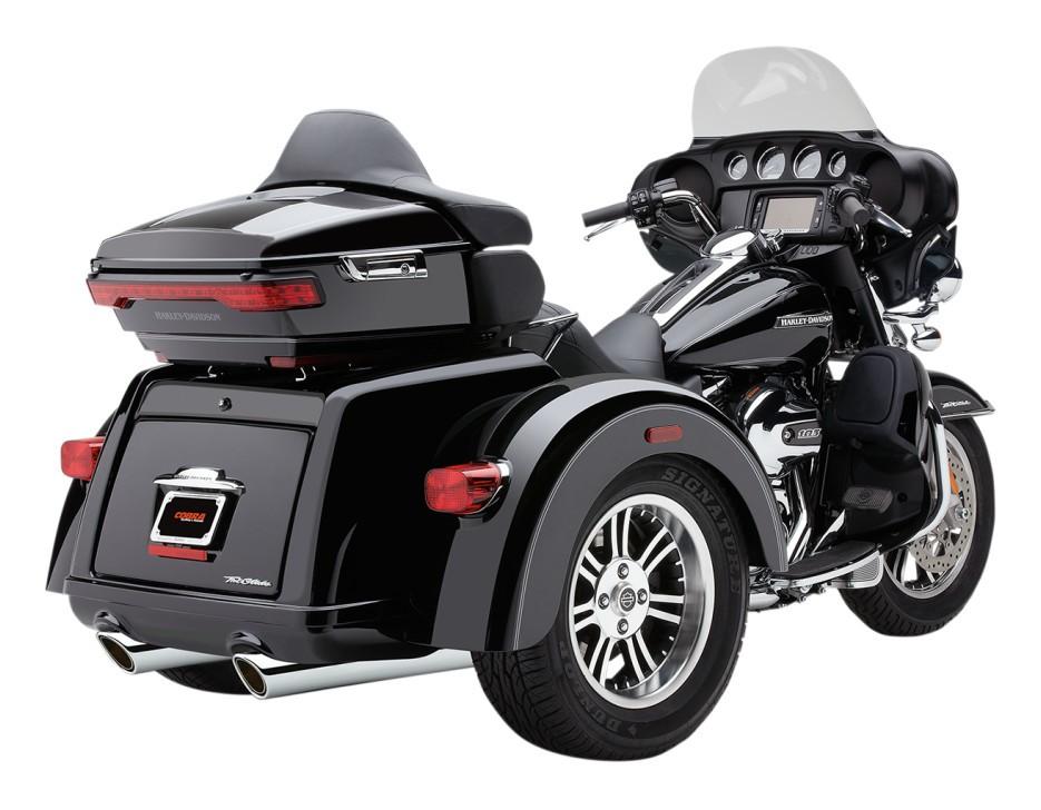 Cobra 909 Slipon Mufflers For Harley Trike 20092019 10 3999 Off Revzilla: Harley Trike Exhaust At Woreks.co