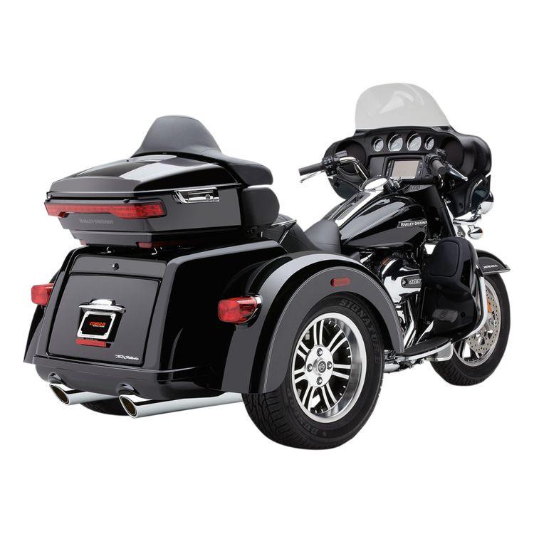 Cobra 909 Slip-On Mufflers For Harley Trike 2009-2018